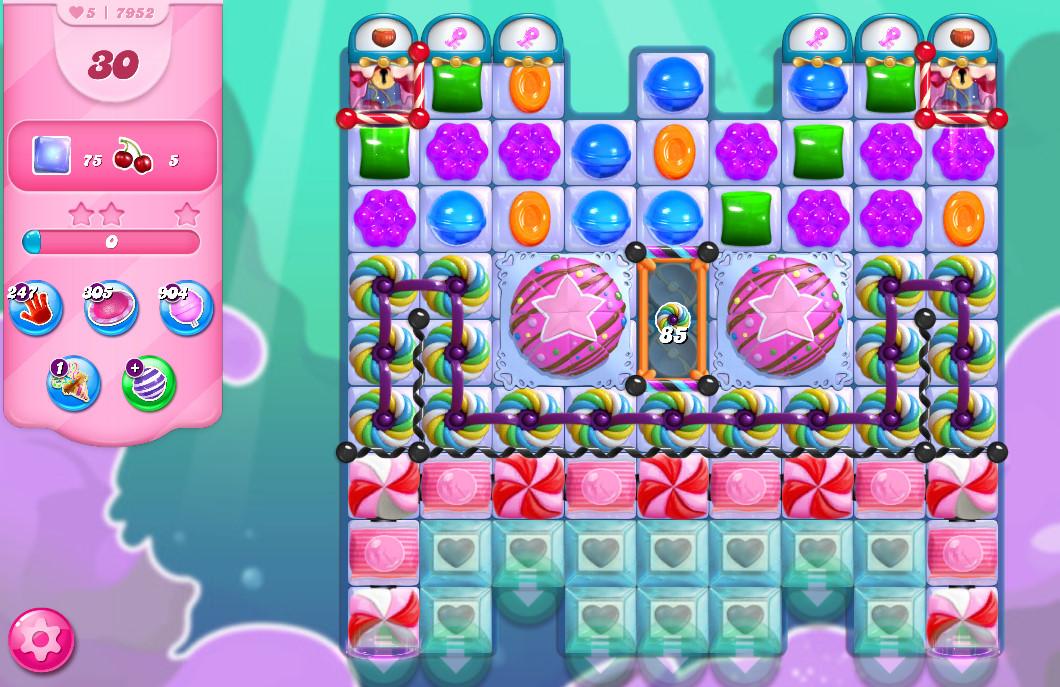 Candy Crush Saga level 7952