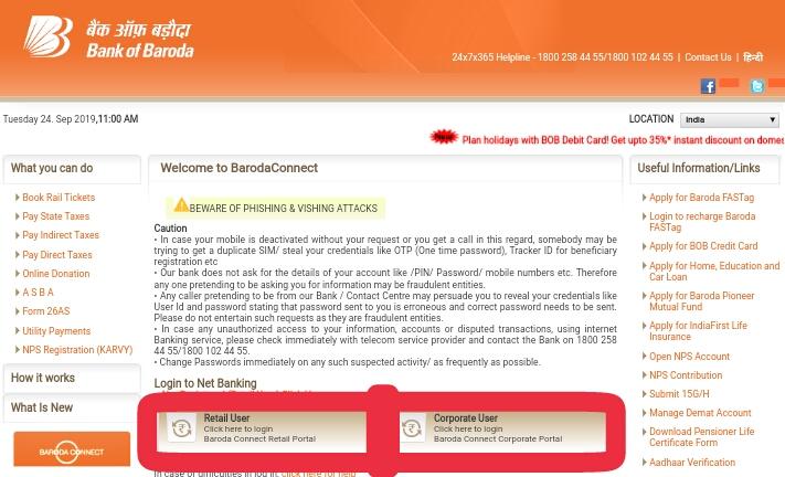 bob net banking app download