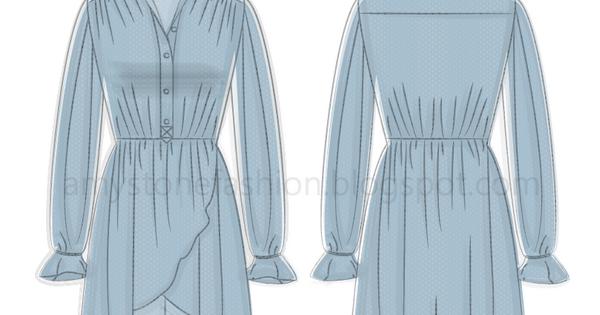 Fashion Flat Sketches Amy Stone Fashion Technical