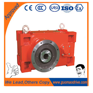Crusher geared motor