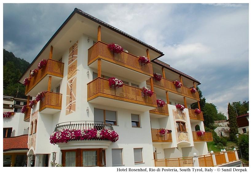 Hotel Rosenhof, Rio di Pusteria, South Tyrol, Italy - Images by Sunil Deepak