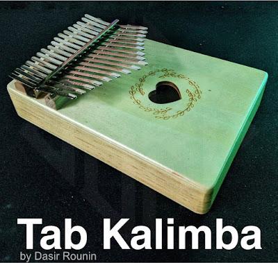 Tab Kalimba by Dasir Rounin