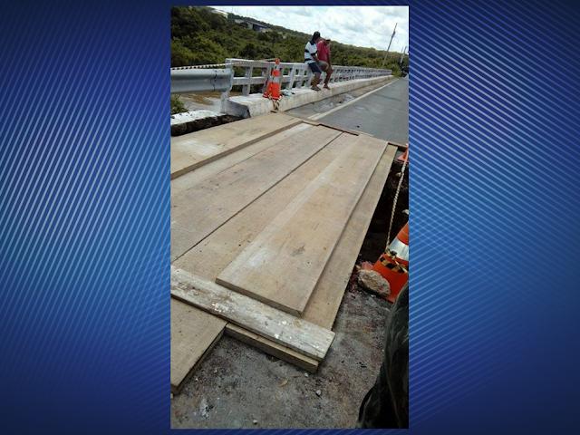 Carros pequenos já podem atravessar a ponte do Retiro (Divisa Ceará/Piauí)