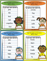 Story Writing Centers and Graphic Organizers