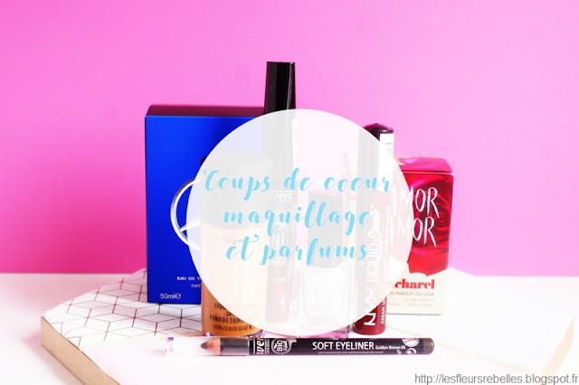 maquillage et parfums reçus préférés en 2017