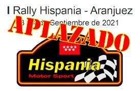 Rally Hispania Aranjuez Madrid