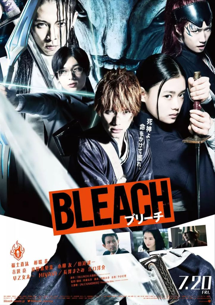 Bleach Live Action (2018) |Castellano| |Mega 1 Link|