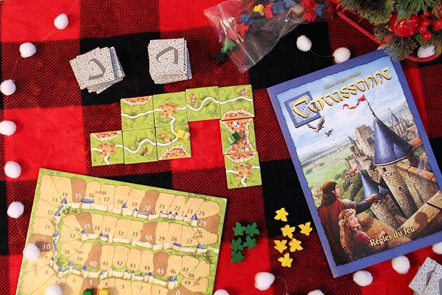 Carcassonne jeu Asmodee Canada société party jeux