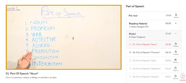 Belajar bahasa inggris secara daring gratis di Qubisa