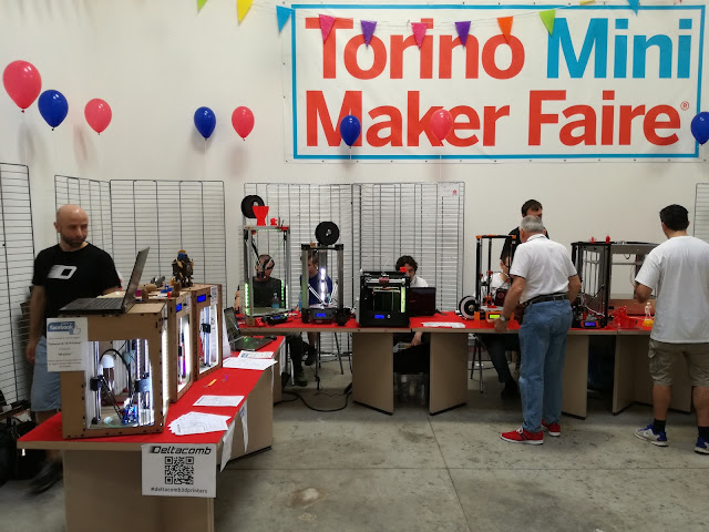 Deltacomb Mini Maker Faire Torino