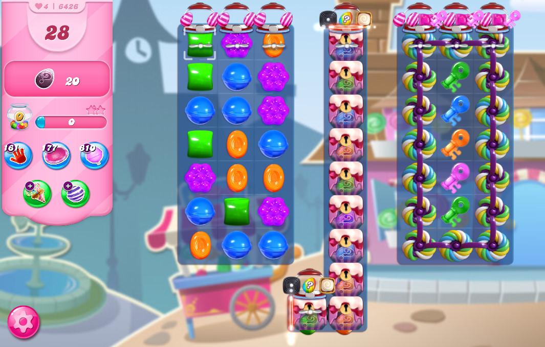 Candy Crush Saga level 6426