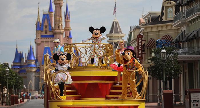 Mickey and Friends Cavalcade.
