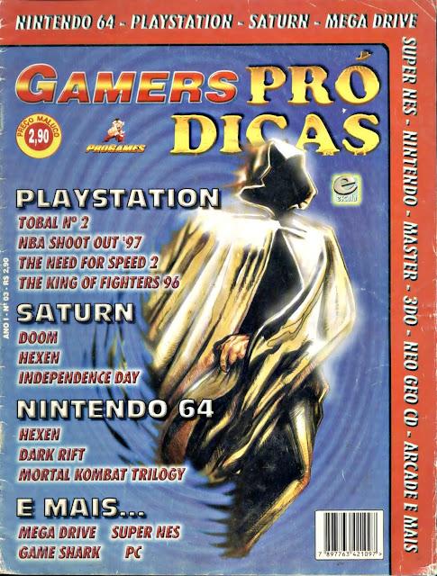 Revista de games Antigas