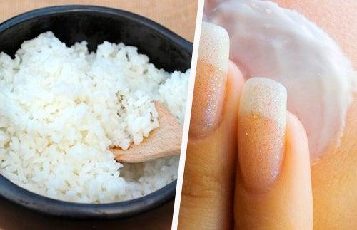 Masque anti-imperfections au riz et à la fécule de maïs pour une peau radieuse, rajeunie et belle