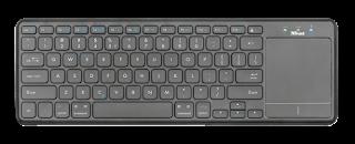 tastiera bluetooth con touchpad trust 22574