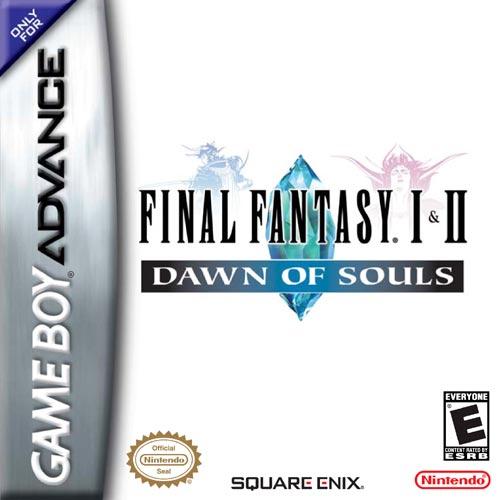 Final Fantasy I & II: Dawn of Souls - Español - Portada