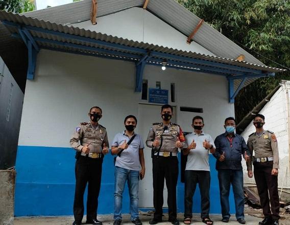 Polresta Tangerang Selesaikan Bedah Rumah Warga Pasir Nangka