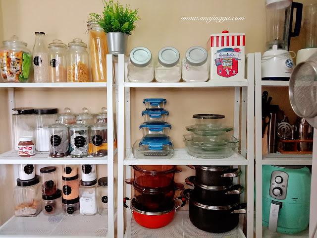 susun atur dapur dengan lerberg Ikea