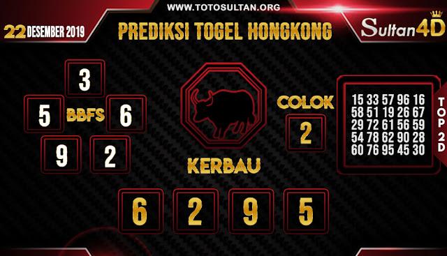 PREDIKSI TOGEL HONGKONG SULTAN4D 22 DESEMBER 2019