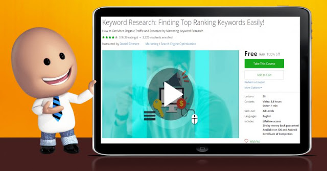 [100% Off] Keyword Research: Finding Top Ranking Keywords Easily!| Worth 30$