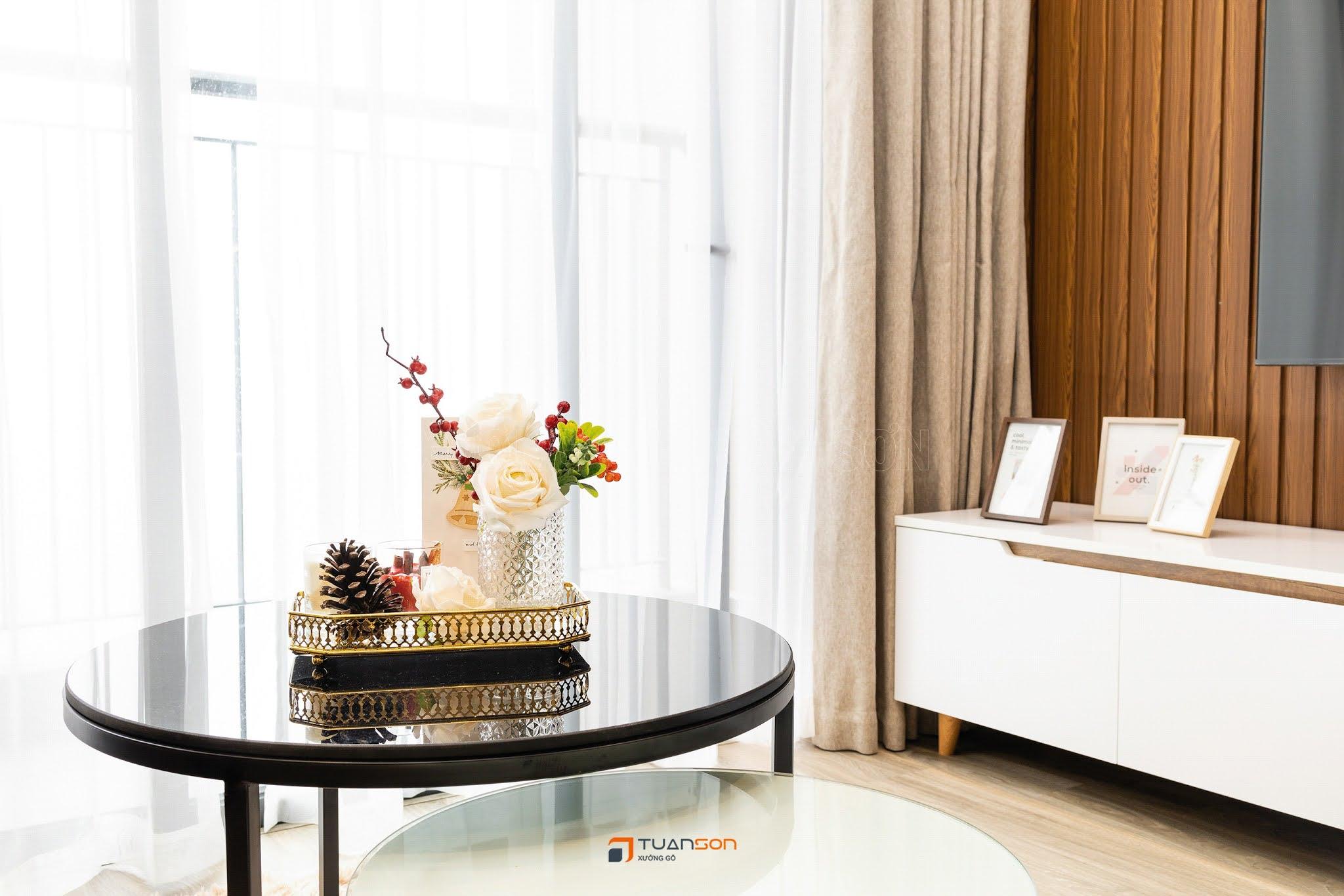 Hình ảnh thực tế nội thất căn 2PN+2WC (65m2) Vinhomes Smart City