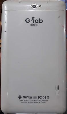 G-TAB G100i FLASH FILE