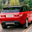 Leaked pictures of the New 2014 Range Rover Sport