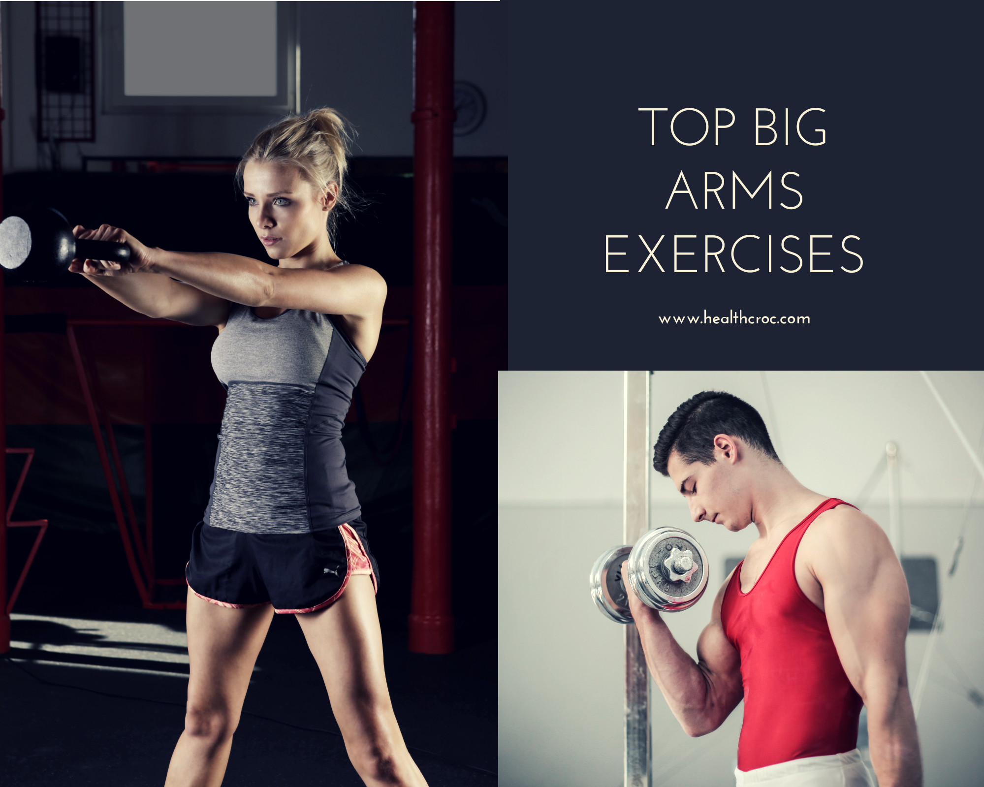 workout for big arms