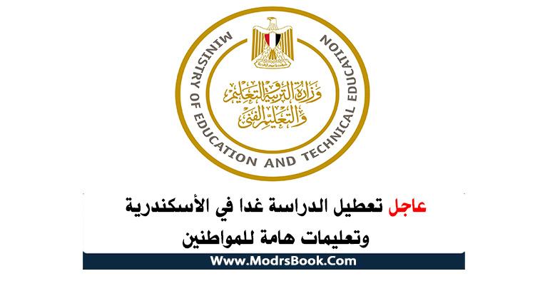 تعطيل الدراسة في الاسكندرية السبت , تعطيل الدراسة السبب بسبب حالة الطقس
