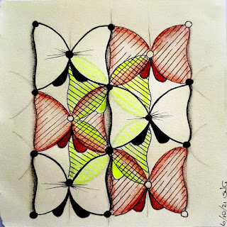 Bow String 'Butterflies' overlapping