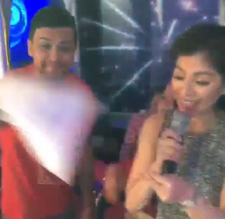THROWBACK: Billy Crawford Did This To Miss Angel Locsin While They Were Live At 'It's Showtime'! WATCH WHAT HAPPENED HERE!