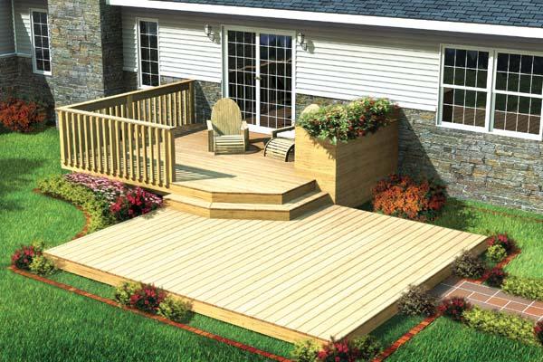 Outside House Decorations Garden Patios Decks And Garden Trellis