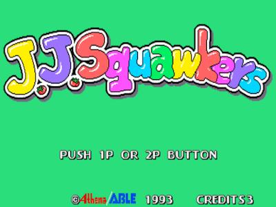 街機:啄木鳥歷險記+作弊Cheat碼,J.J.Squawkers!