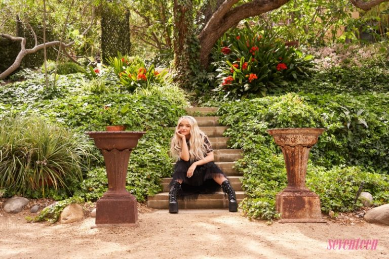Dove Cameron wears Dolls Kills boots