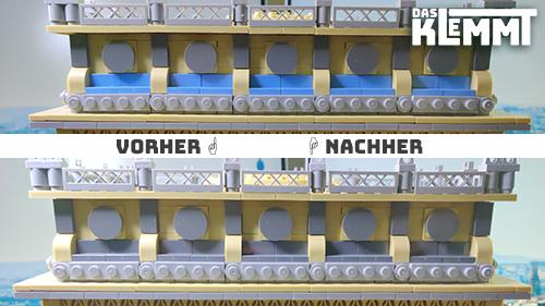 Umbau am Triumphal Arch von WANGE