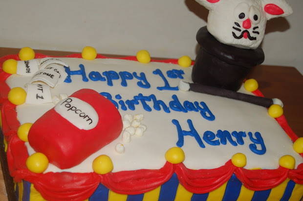 Happy 1st Birthday Henry