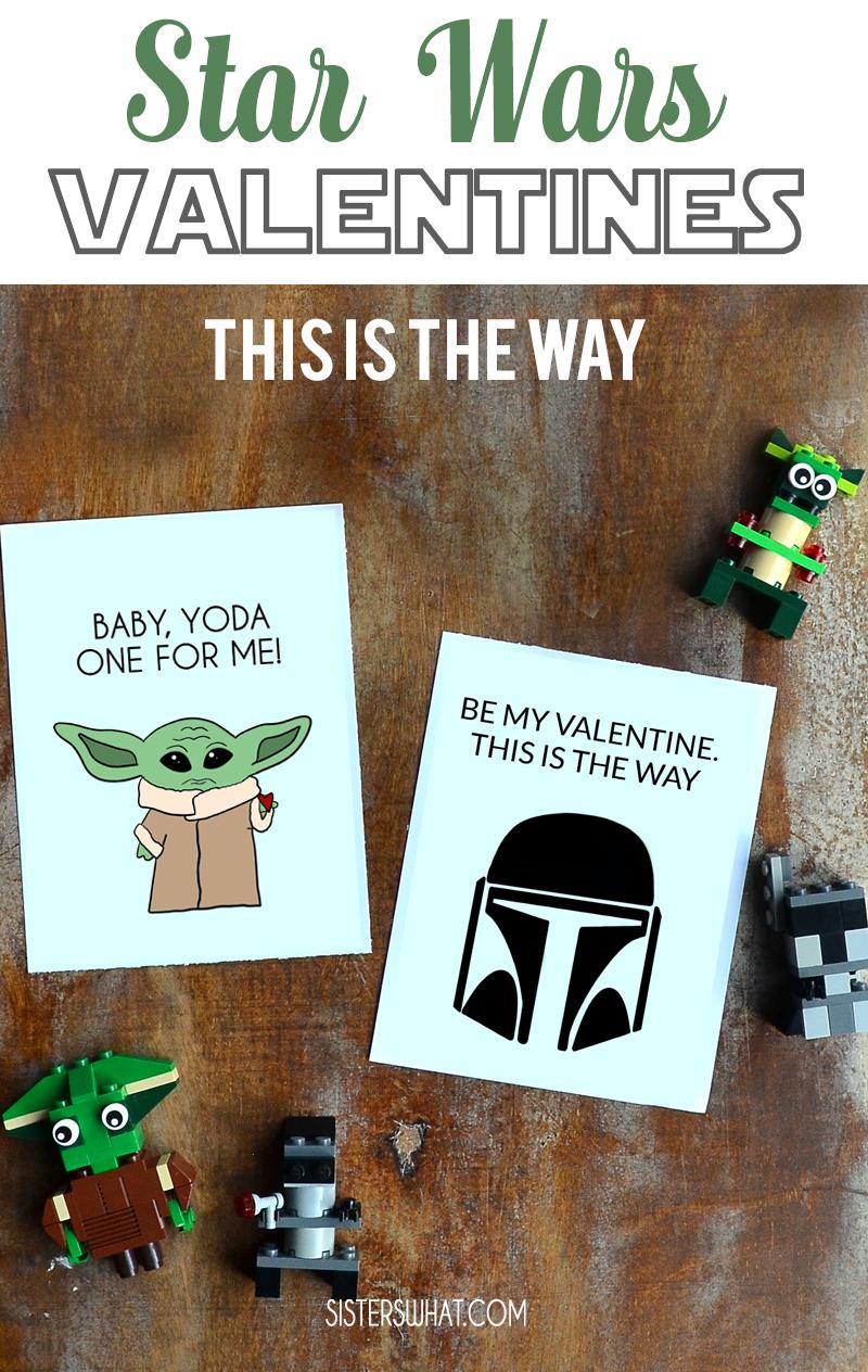 mandalorian baby yoda printable valentines day