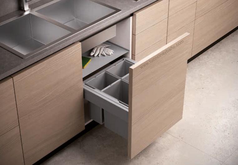 Cubo basura puerta extraible | tu Cocina y Baño