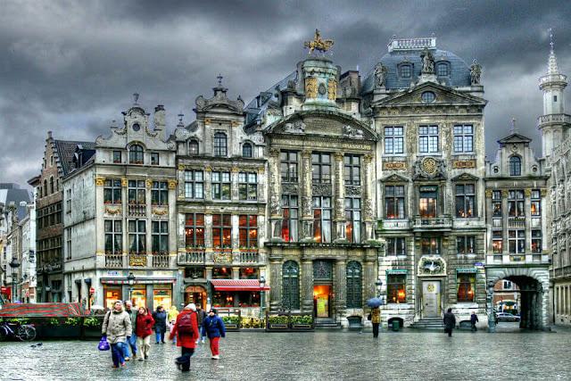 Gọi tên những thành phố xinh đẹp của Bỉ