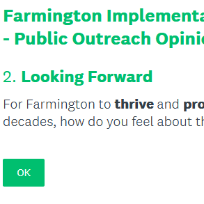 #FarmingtonNH Implementable Master Plan - Public Outreach Opinion Survey