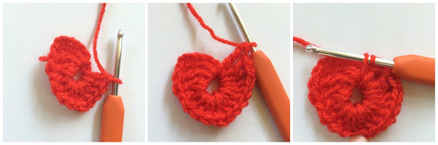 Free Crochet Heart Pattern