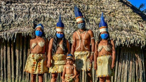 Investigan en Brasil caso de indígenas amenazados por Covid-19