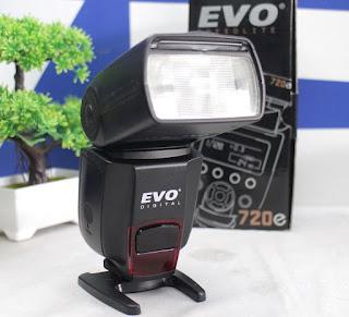 Jual External Flash EVO 720e Bekas
