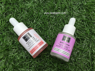 Scarlett Whitening Acne Serum dan Scarlett Whitening Brightly Ever After Serum