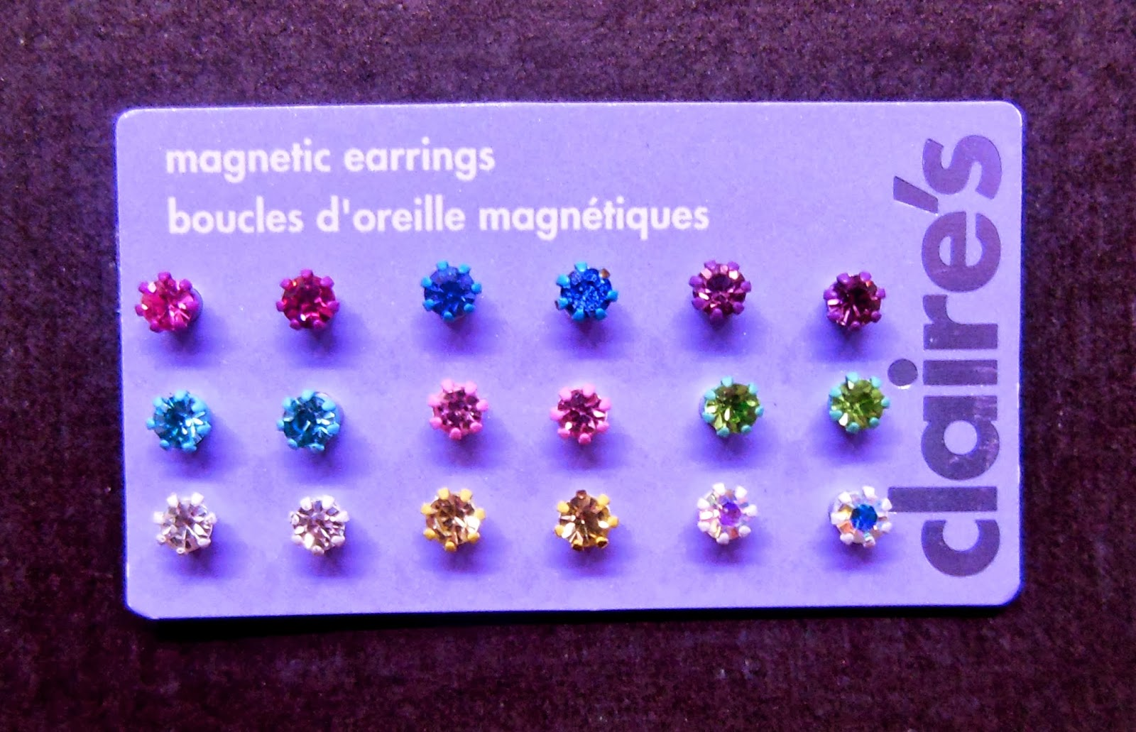 Claire S Magnetic Earrings