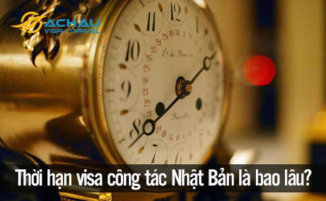 Thời hạn của visa công tác Nhật Bản là bao lâu?