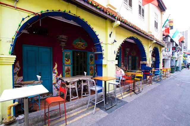 Haji lane-Quartiere arabo-Singapore