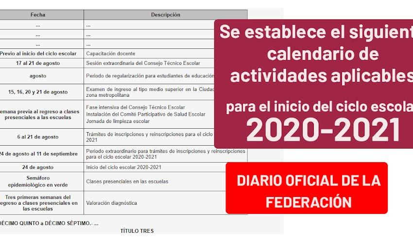 Diario oficial de la FEDERACIÓN ACUERDO número 14/07/20 por el que se reforma el diverso número 12/06/20