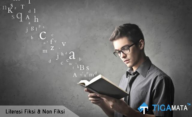 Contoh Literasi Buku Fiksi dan Non Fiksi Serta Cara Membuatnya