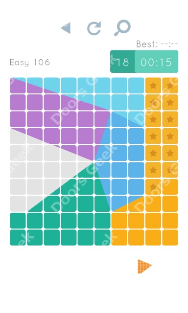 Cheats, Walkthrough for Blocks and Shapes Level 106